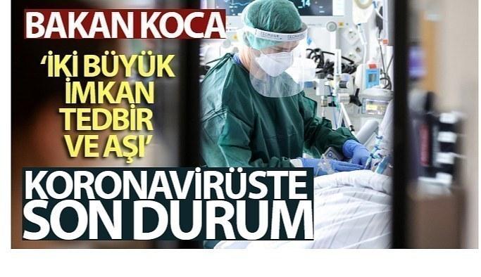 13 Ağustos Cuma Koronavirüs Tablosu bakan Koca Açıkladı