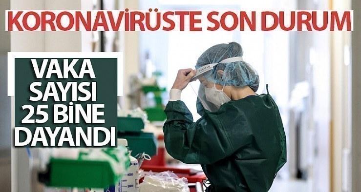 54 ildeki koronavirüs vakaları 100 bin kişide 100'ü aştı