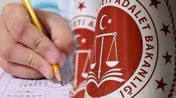 Adalet Bakanlığı beklenen 3 sınav sonucunu açıkladı