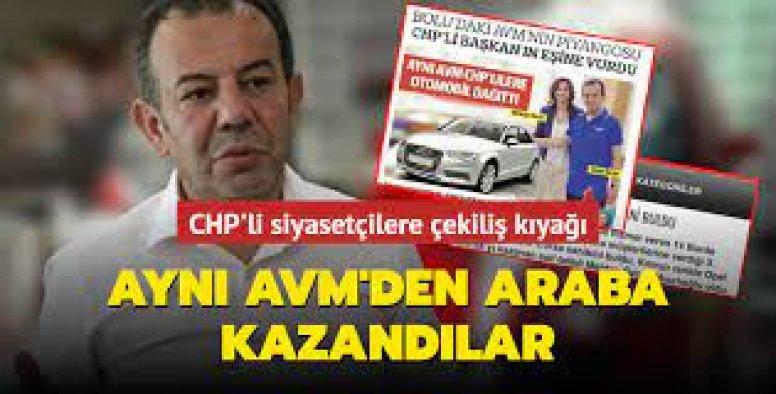 AVM'nin araba çekilişi Belediye Başkanı'nın eşine çıktı!