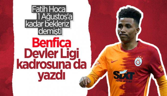 Benfica, Gedson Fernandes'i Devler Ligi kadrosuna kaydetti