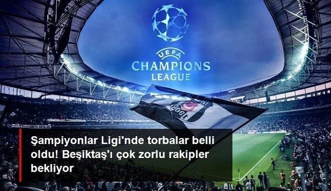 Beşiktaş, Şampiyonlar Ligi kura çekimine 4. torbadan katılacak
