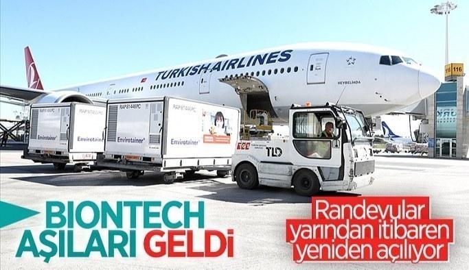 BioNTech aşılarının yeni sevkiyatı Türkiye'de