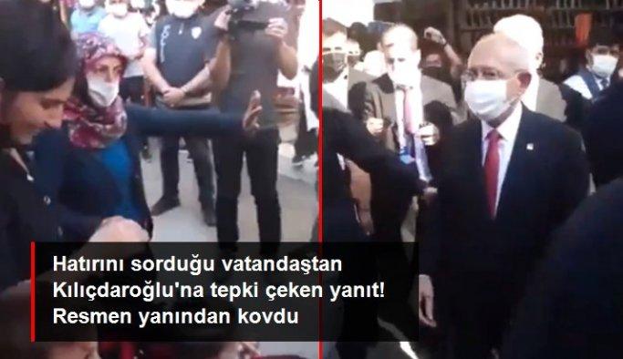 """Çorum'da bir ablamızdan CHP Genel Başkanı Kemal Kılıçdaroğlu'na tepki: """"Çocuğuma dokunma"""""""
