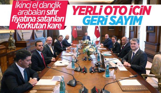 Cumhurbaşkanı Erdoğan, TOGG heyetiyle görüştü