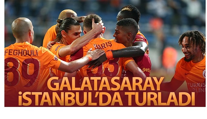 Galatasaray coşkulu oyunuyla gruplara kaldı