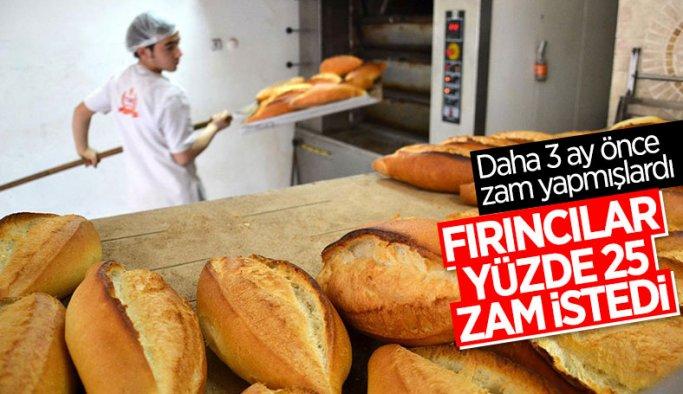 İstanbul'da ekmeğe bir yılda ikinci zam talep edildi