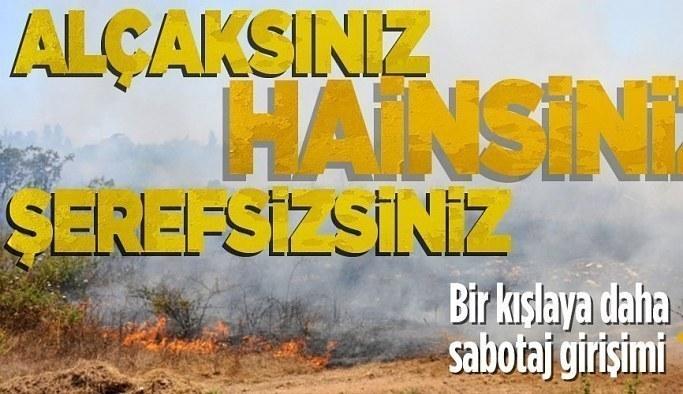 İzmir'de Ulaştırma Personel Okulu ve Eğitim Merkezi Komutanlığı kışlasında yangın çıkarmak isteyen 2 kişi yakalandı