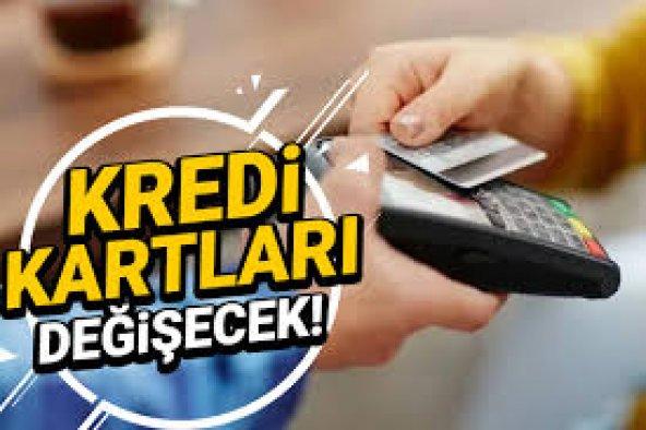 Kredi kartı kullananlar dikkat! 2024'ten itibaren değişecek...