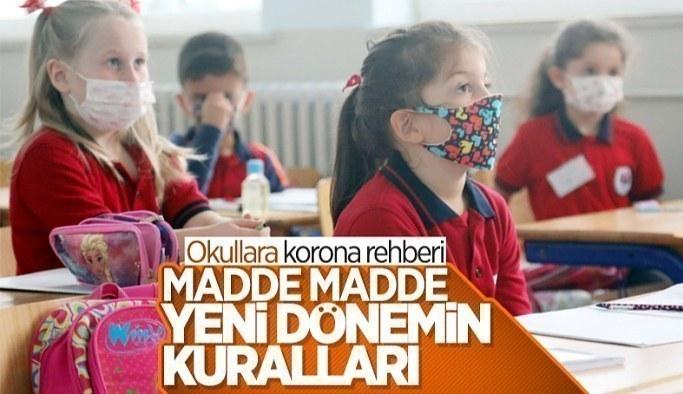 MEB, okullarda alınacak koronavirüs önlemlerini açıkladı