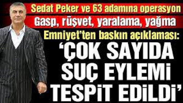 Sedat Peker'in bağlantılarını deşifre etmişti: Silahlı saldırı...