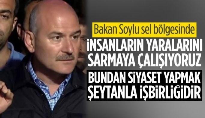 Süleyman Soylu: Tüm köylere helikopterle jeneratör gönderiyoruz