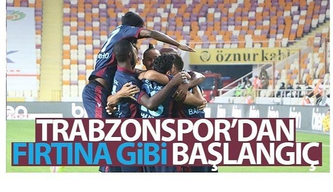 Trabzonspor'dan fırtına gibi başlangıç!