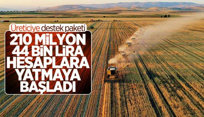 Üreticilere Büyük Müjde! 210 milyon 44 bin 627 lira destek geldi