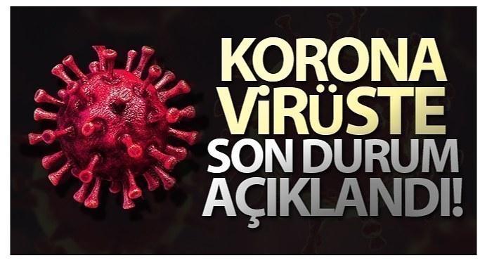 11 Eylül Cumartesi Koronavirüs Tablosu