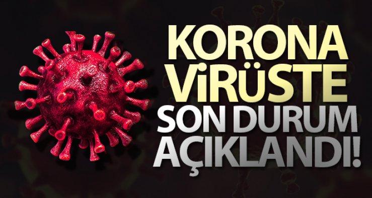 16 Eylül Perşembe Koronavirüs Tablosu