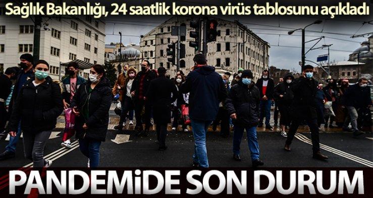 19 Eylül Pazar Koronavirüs Tablosu