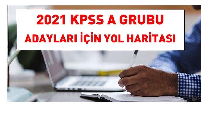 2021 KPSS A grubu adayları için yol haritası