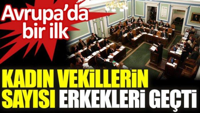 Avrupa'da bir ilk: İzlanda parlamentosunda kadın milletvekillerinin sayısı erkekleri geçti