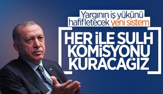Cumhurbaşkanı Erdoğan, hakim ve savcı kura töreninde konuştu
