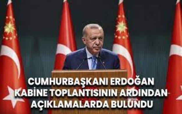 Erdoğan: Yargıya verdiğimiz desteği sürdüreceğiz