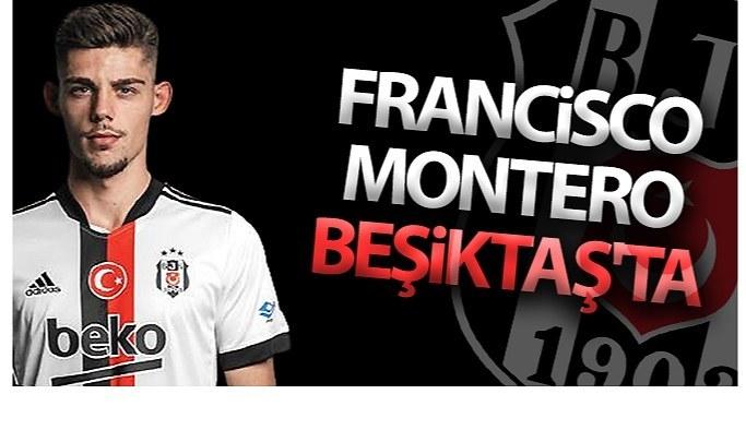 Francisco Montero Beşiktaş'ta