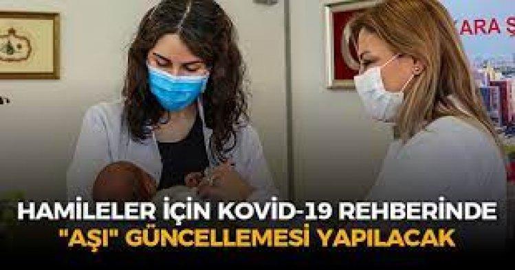 Hamileler için COVID-19 rehberinde aşı güncellemesi yapılacak