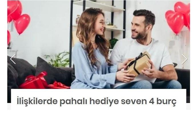 İlişkilerde pahalı hediye seven 4 burç