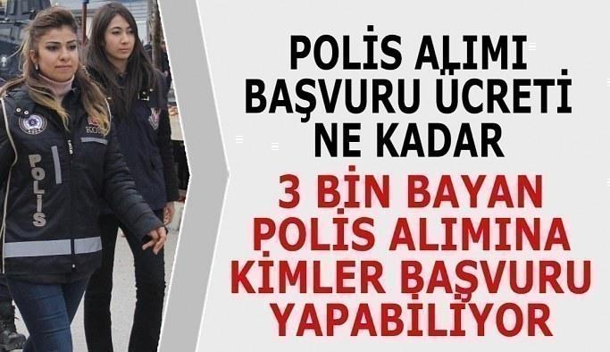 Kadın Polis Alımı Başvuru Şartları (POMEM Alımları)