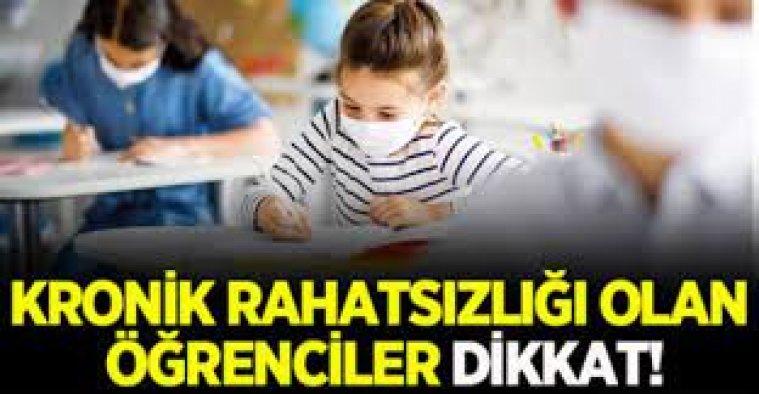 MEB'den ilk izin çıktı: Okula gitmeyecekler!