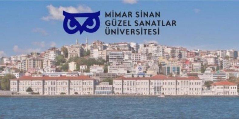 Mimar Sinan Güzel Sanatlar Üniversitesi 30 İşçi Alımı İlanı