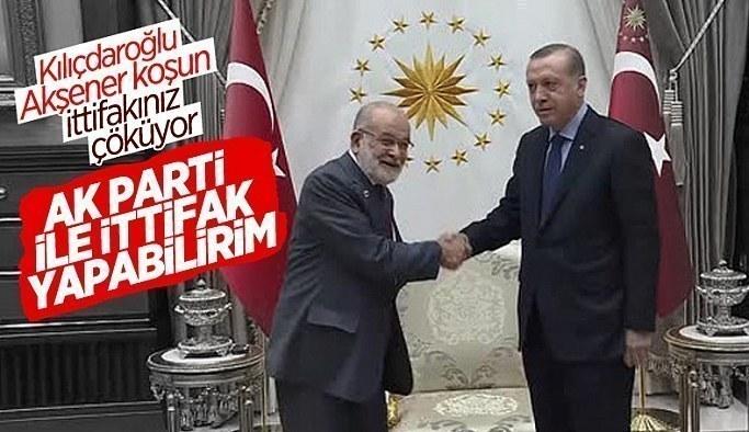 Temel Karamollaoğlu'ndan Cumhur İttifakı açıklaması Ak Partiyle Ortak mı Oluyorlar?