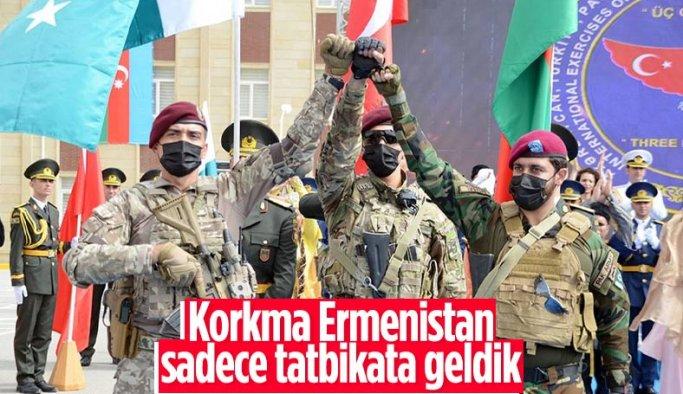 Türkiye, Azerbaycan ve Pakistan özel kuvvetlerinden ortak tatbikat