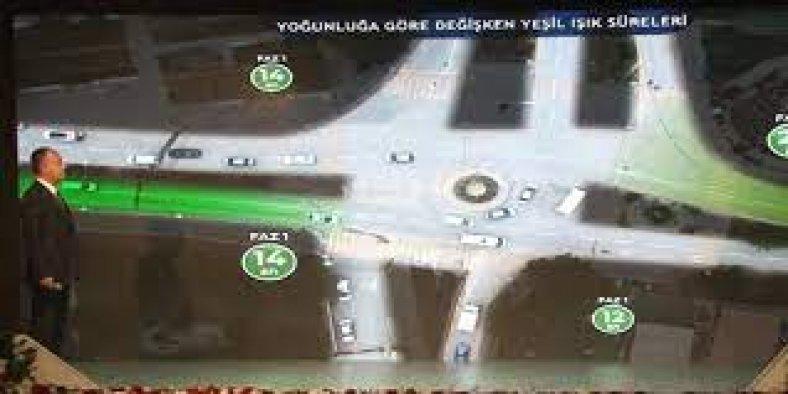 Türkiye'de ilk kez kuruldu, 'akıllı kavşak' dönemi başladı
