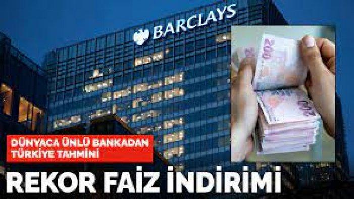 Yabancı bankalardan yeni faiz tahmini