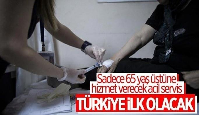 65 yaş üstündeki vatandaşlar için acil servisler kurulacak