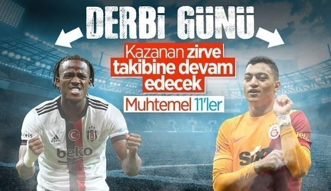 Beşiktaş - Galatasaray maçının muhtemel 11'leri