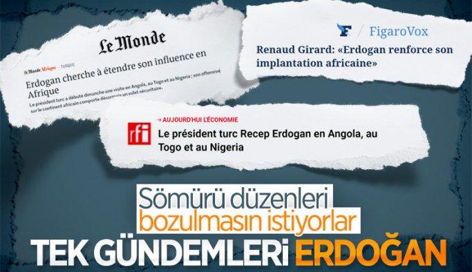 Fransa'nın gündemi Cumhurbaşkanı Erdoğan'ın Afrika turu