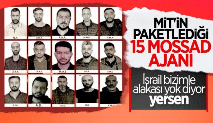 İsrail, Türkiye'de yakalanan 15 Mossad ajanını reddetti