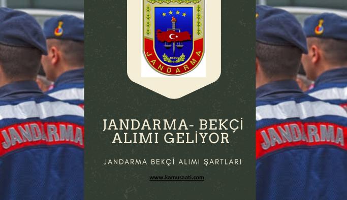 Jandarma Bekçi Alımı 2022 Jandarma bekçi alımı başvurusu güncel ilanlar ve başvuru formu