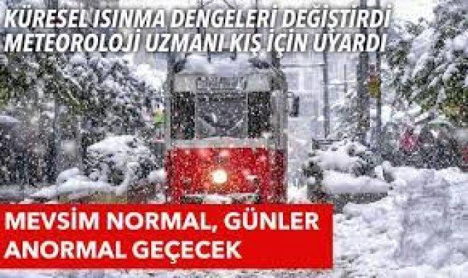 Kış ayları daha soğuk geçecek! İstanbul'a daha çok kar yağacak