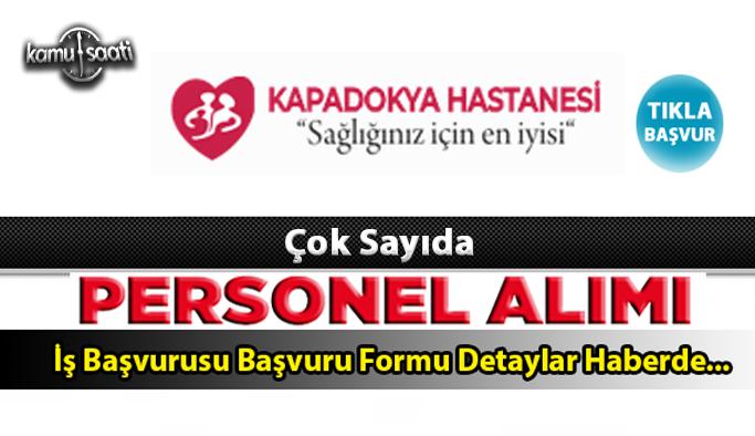 Nevşehir Özel Kapadokya Hastanesi Personel Alımı İş İlanları ve İş Başvurusu