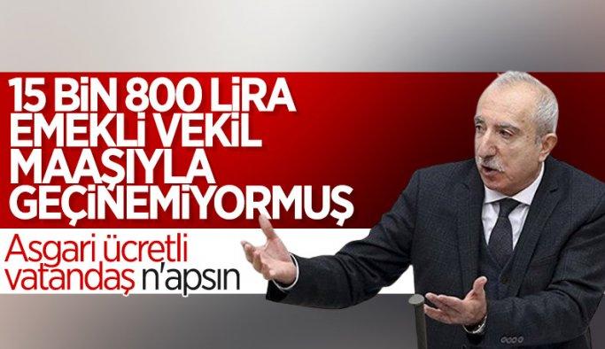 Orhan Miroğlu: Emekli vekil maaşıyla geçinmekte zorlanıyorum