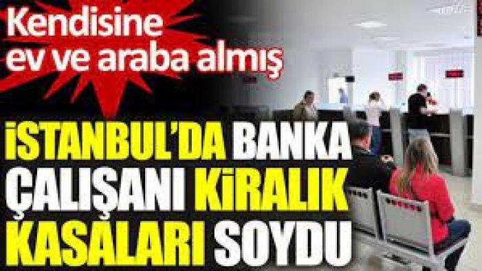 Sonunda Bu da Oldu! Banka çalışanı kasaları soydu! 4 milyonla ev ve araba almış