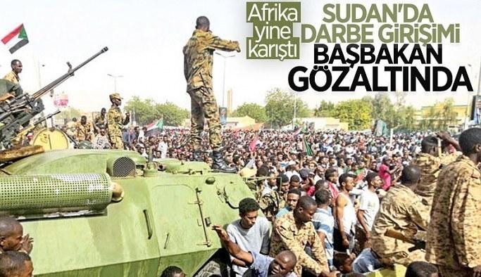 Sudan'da darbe girişimi: Başbakan ev hapsine alındı