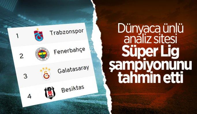 Ünlü analiz sitesinden Süper Lig kehaneti