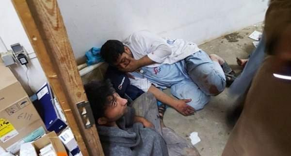 ABD Yarım Saat Boyunca Hastane Bombaladı