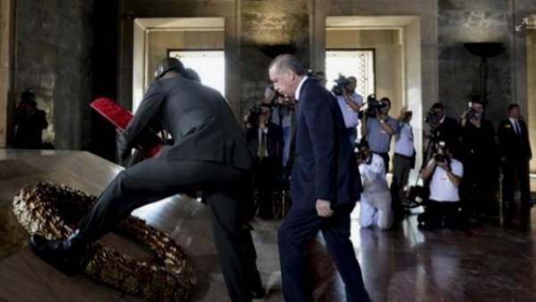 Anıtkabir'de devlet töreni düzenlendi
