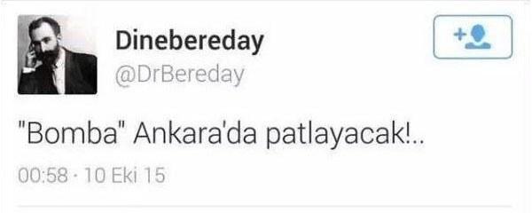 Ankara patlaması tweetleri için 2 gözaltı