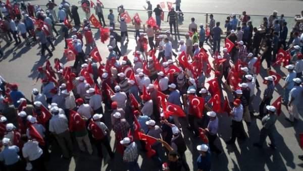 Ankara'da Büyük Miting